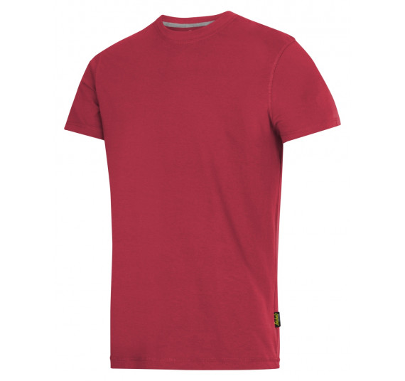 Snickers Workwear T-Shirt, 2502, Farbe Chili Red/Base, Größe L