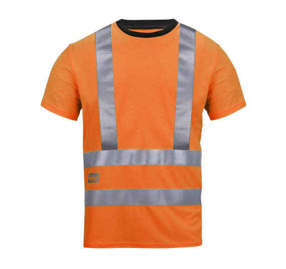 Snickers Workwear High-Vis A.V.S. T-Shirt, Klasse 2, 2543