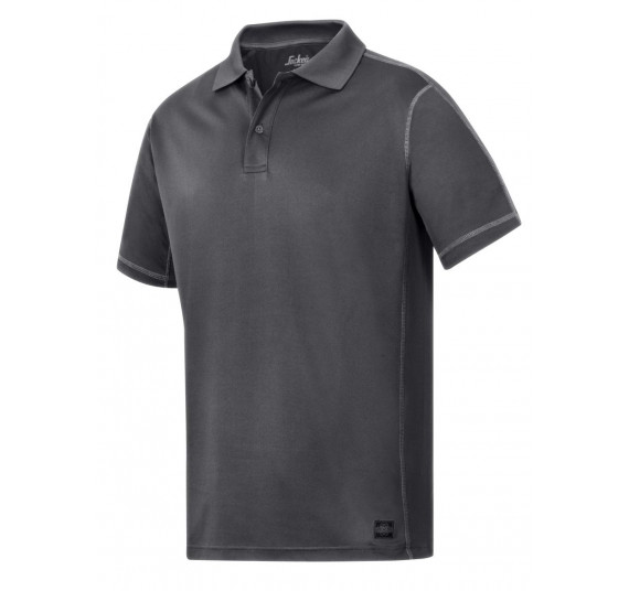 Snickers Workwear A.V.S. Polo Shirt, 2711, Farbe Steel Grey/Base, Größe L