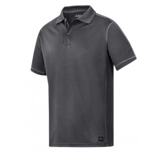 Snickers Workwear A.V.S. Polo Shirt, 2711, Farbe Steel Grey/Base, Größe XL
