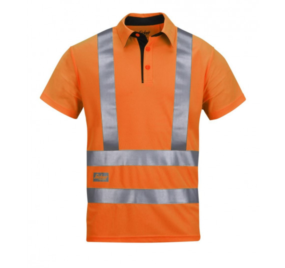 Snickers Workwear High-Vis A.V.S. Polo Shirt, Klasse 2, 2743