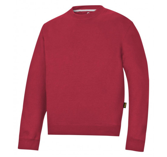 Snickers Workwear Sweatshirt, 2810, Farbe Chili Red/Base, Größe S