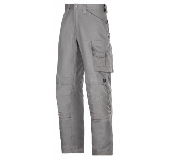 Snickers Workwear Handwerker Arbeitshose, Canvas+, 3314, Farbe Grey, Größe 46
