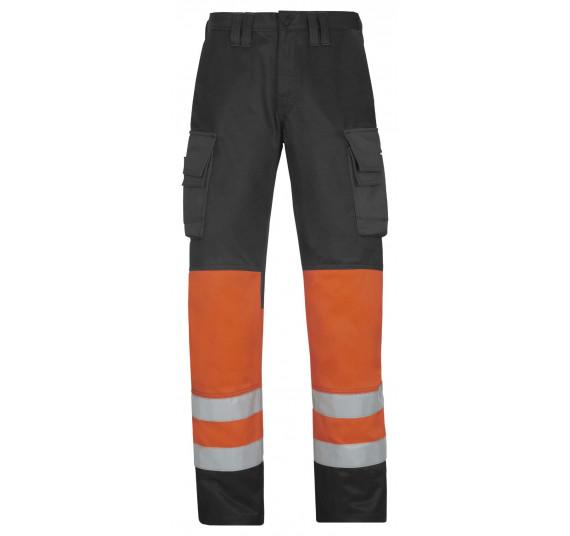 Snickers Workwear High-Vis Arbeitshose, Klasse 1, 3833