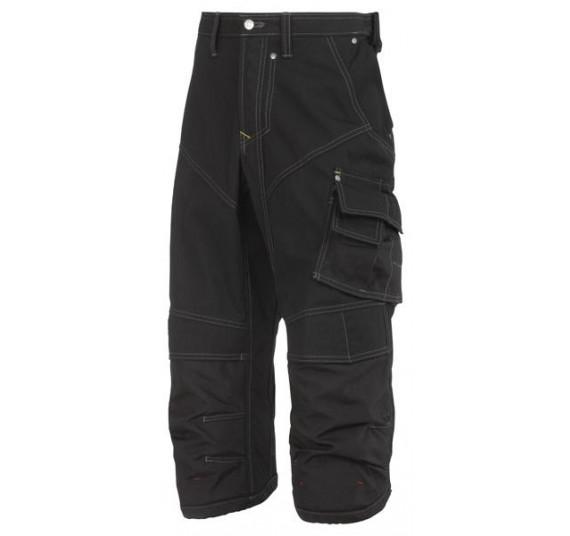 Snickers Workwear Piraten-Arbeitshose, Rip-Stop, 3913, Farbe Black, Größe 104