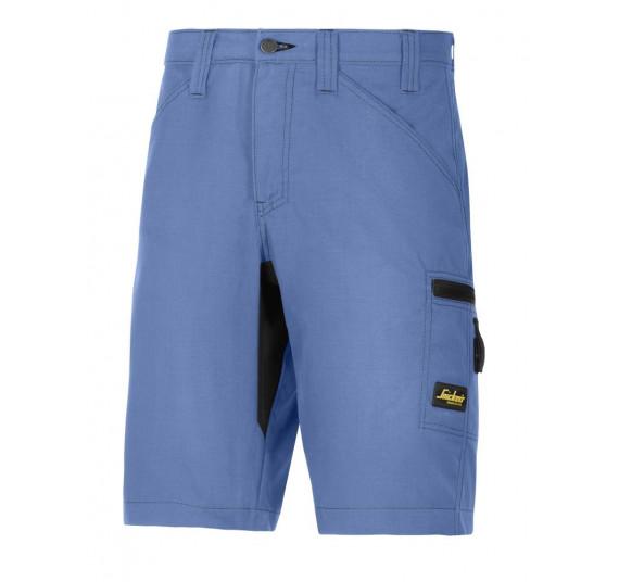 Snickers Workwear LiteWork, 37.5 Arbeitsshorts, 6102, Farbe Cloud Blue/Black, Größe 50
