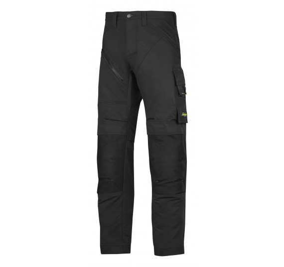 Snickers Workwear RuffWork Arbeitshose, 6303, Farbe Black, Größe 52