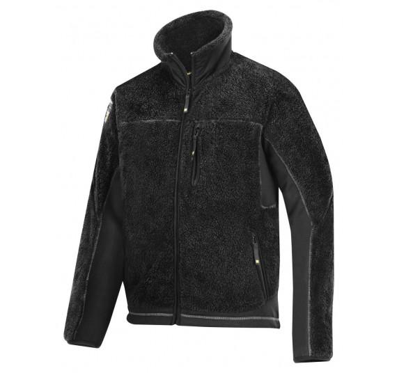 Snickers Pile Fleece Jacke, 8011, Farbe Black, Größe M
